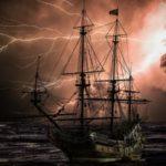 Histoires vraies des navires pris dans une tempête