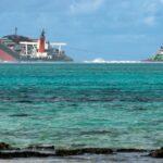 Île Maurice : le navire échoué s'est brisé en deux