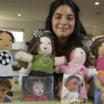 Une ado crée des poupées uniques pour enfants ayant des maladies rares