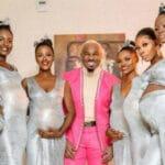 Un homme vient à un mariage avec ses 6 copines toutes enceintes de lui