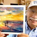 Un Japonais de 73 ans cartonne sur Youtube grâce à sa chaîne WaterColor by Shibasaki