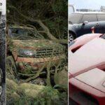 Les 10 voitures les plus chères au monde retrouvées abandonnées