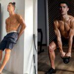Ronaldo le robot : un entraînement intense pour se muscler