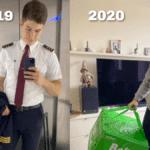 De pilote d'avion à livreur : le Covid-19 a changé la vie de cet homme
