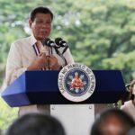 «Être président n'est pas pour les femmes», selon le président des philippines Rodrigo Duterte