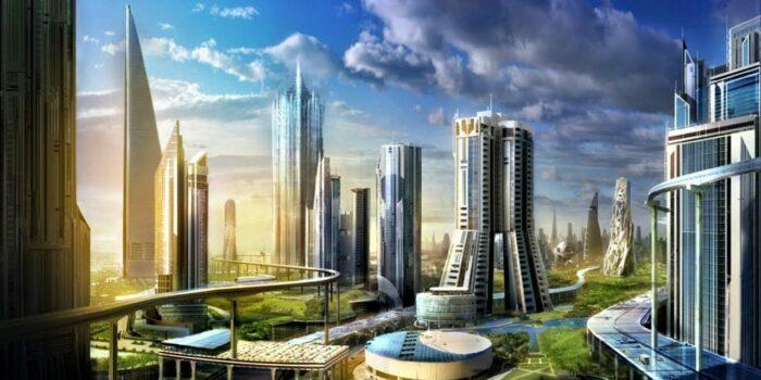 Ville Futuriste Arabie Saoudite