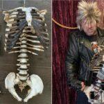 Un musicien transforme le squelette de son oncle décédé en guitare