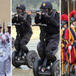 Les 8 armées les plus embarrassantes du monde