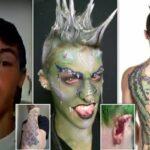 Un homme dépense plus de 12 000 euros pour se transformer en dragon