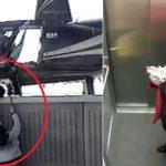 Ne manquez pas ces moments étranges filmés par caméra de sécurité