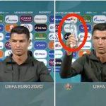 Cristiano Ronaldo refuse d'être associé à Coca-Cola, la marque perd 4 milliards de dollars de valeur marchande