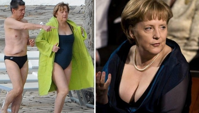 moments embarrassants Angel Merkel
